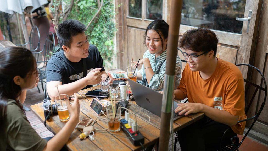 Xofa Cafe Bistro Chao Hanoi 15