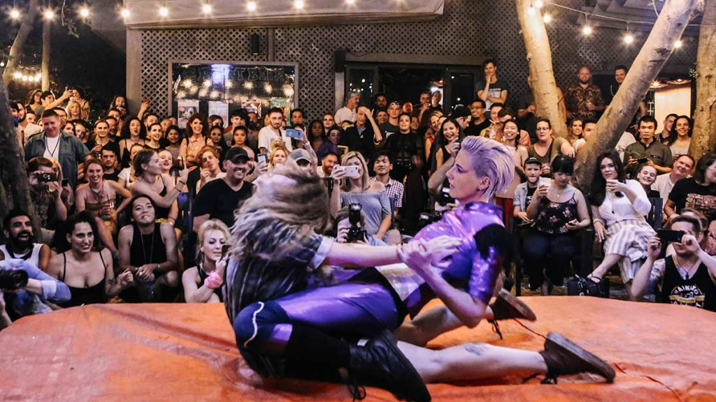 Ladies Wrestling Chao Hanoi 5