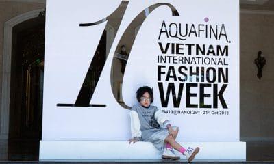 Vietnam Hanoi Fashion Week Chao Hanoi 7 Trang Tien
