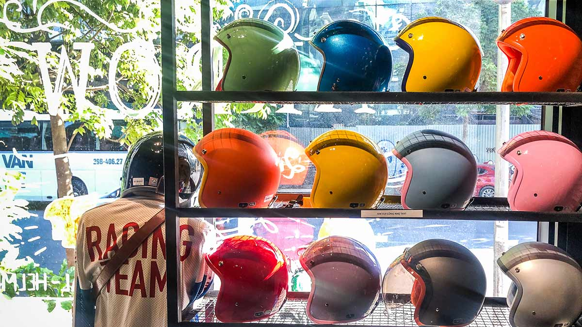 Motorcycle Helmets Arrow Chao Hanoi 5