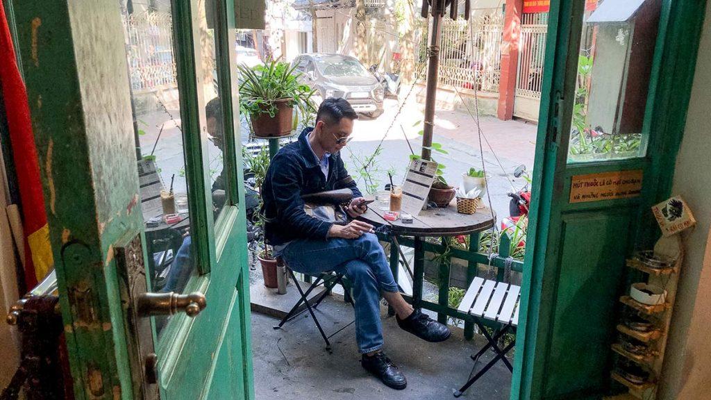 Oldie Chum Cafe Hanoi 1