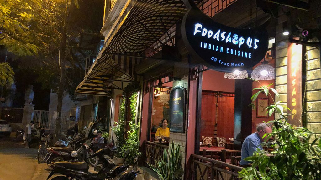 Indian Restaurant Hanoi Foodshop 44 4