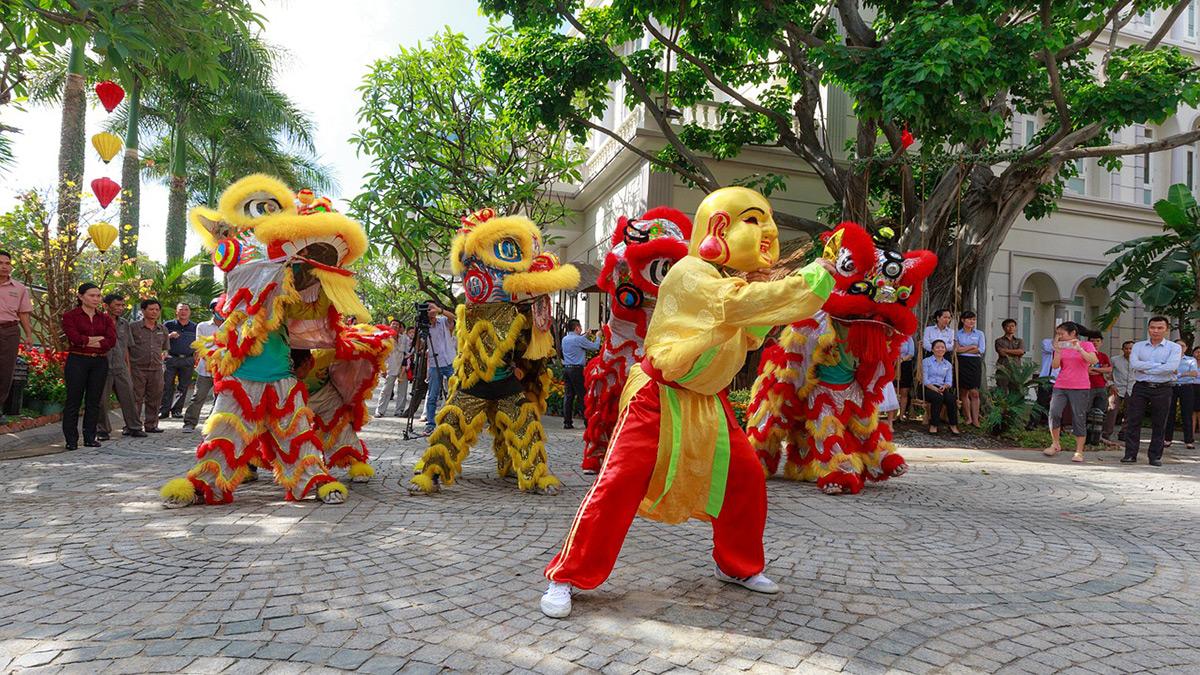 Lion Dance Hanoi