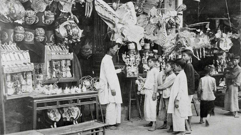 Hanoi Marketplace 1932 Manhhai