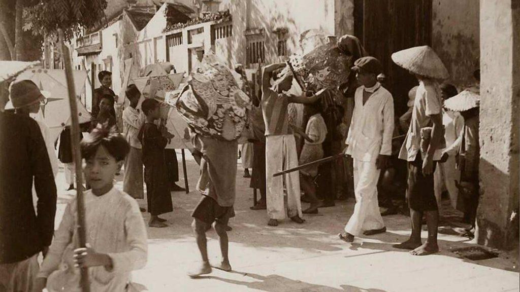 Dance Hanoi Street 1930s Manhhai