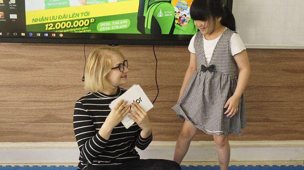 Becky Teaching In Hanoi