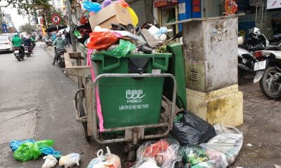 Hanoi Garbage Photo Cred Dti News