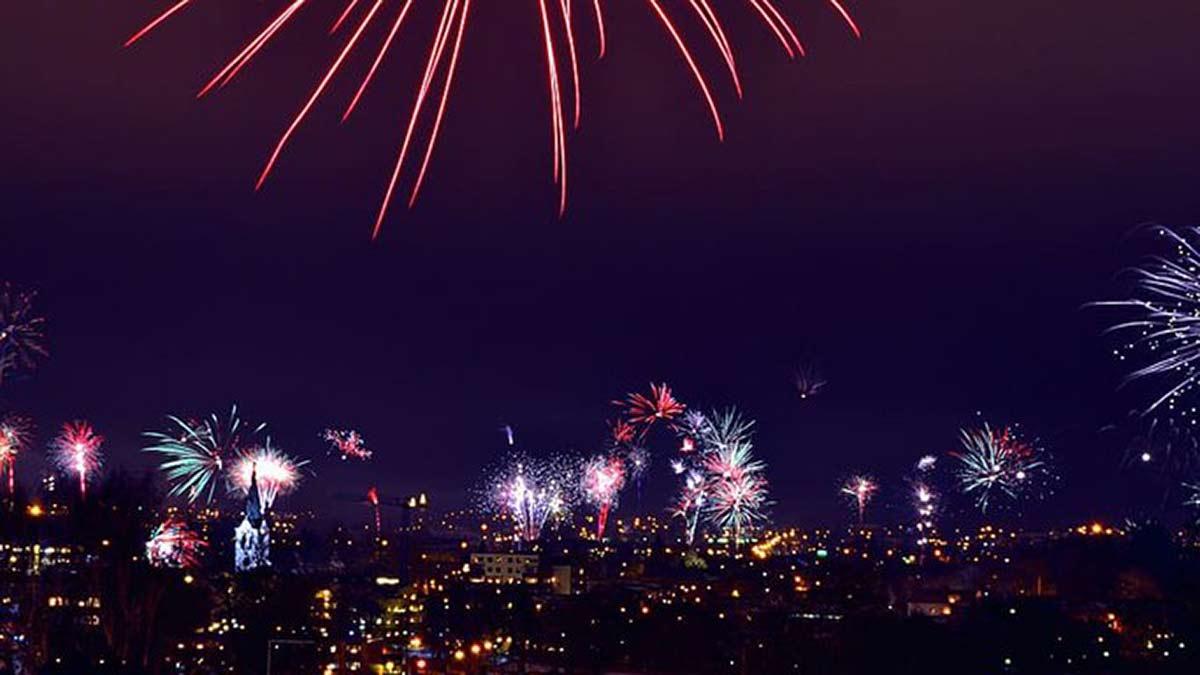230120 Hanoi Tet Fireworks