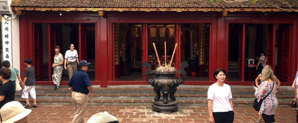 Temple Hanoi Ngoc