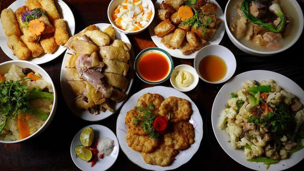 A Hanoi Tet Feast