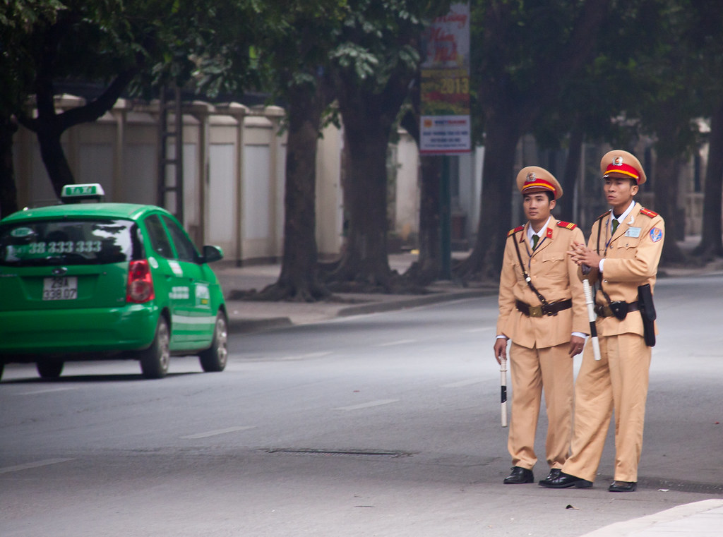 Hanoi Police Low Crime