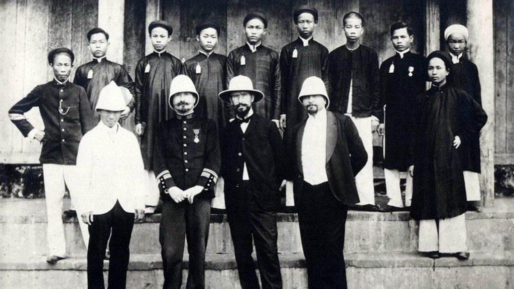 Hospital Of Tonkin 1902 Manhhai