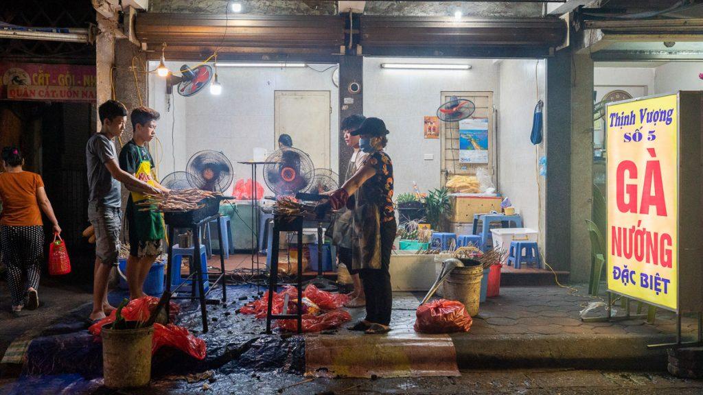 Hanoi Chicken Street 08
