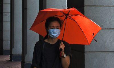 Corona Vietnam Mask Umbrella