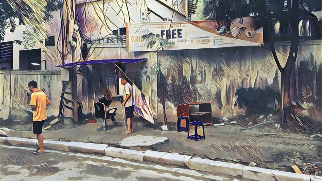 Hanoi Deaf Barber