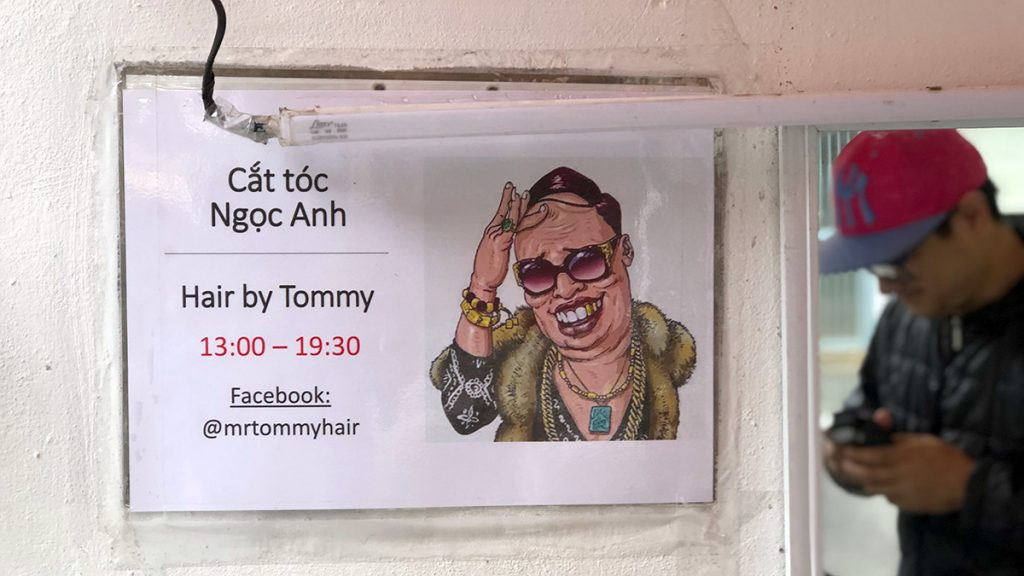 Deaf Hanoi Barber Tommy