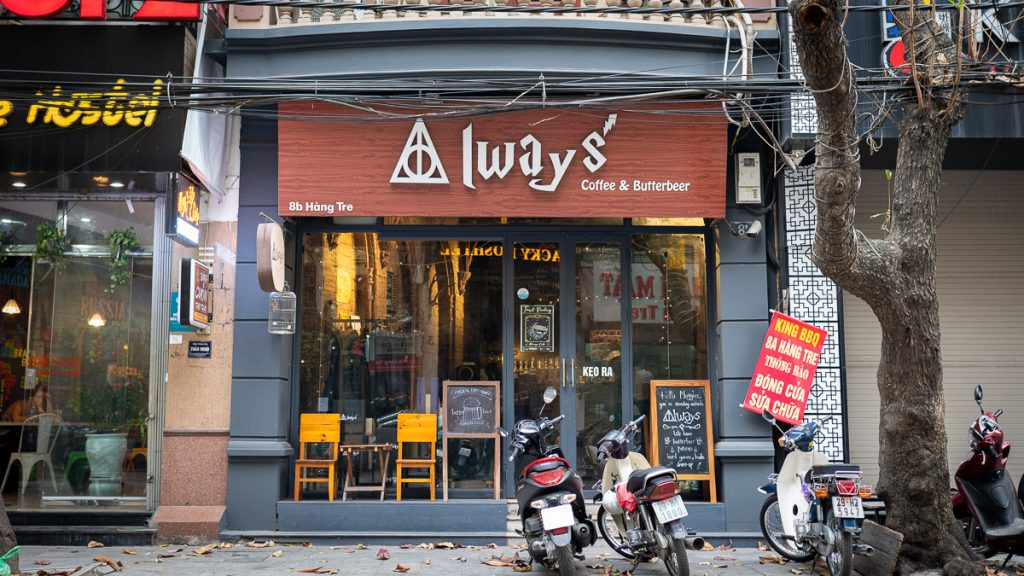 Cool Cafes In Hanoi 6