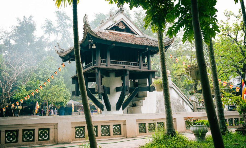 Hanoi Temple One Pillar 7