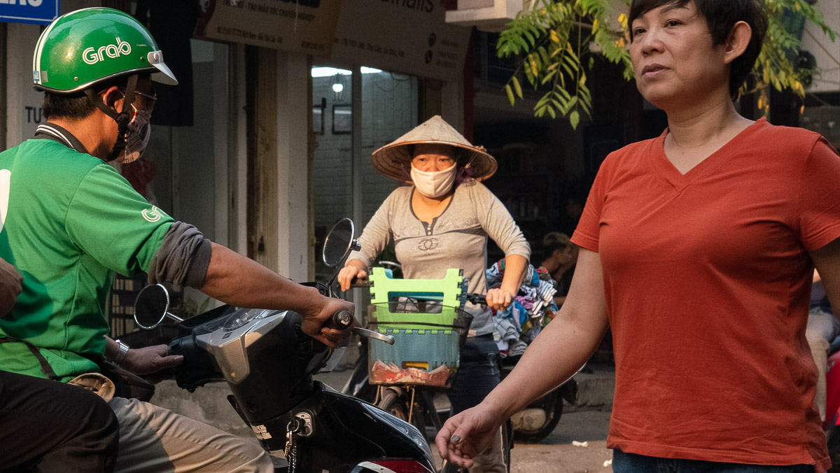 Corona Virus Hanoi Vietnam 19