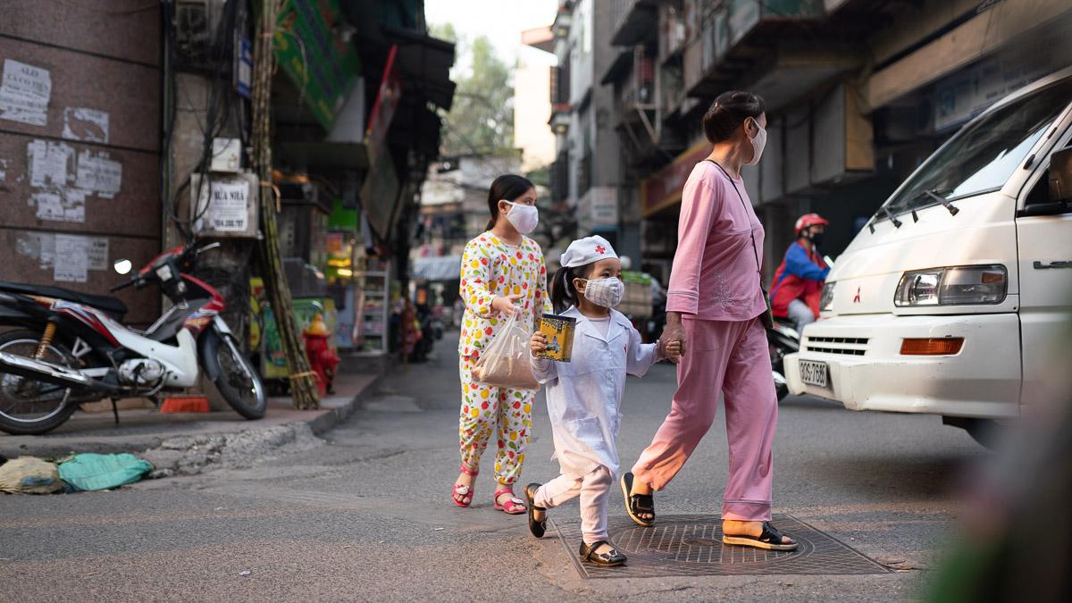 Corona Virus Hanoi Vietnam 11