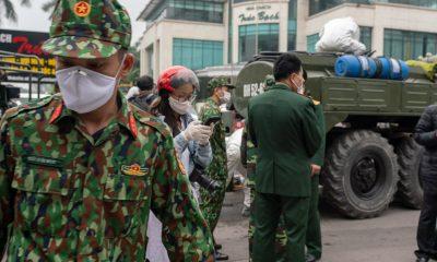 Corona Virus Hanoi Vietnam 09
