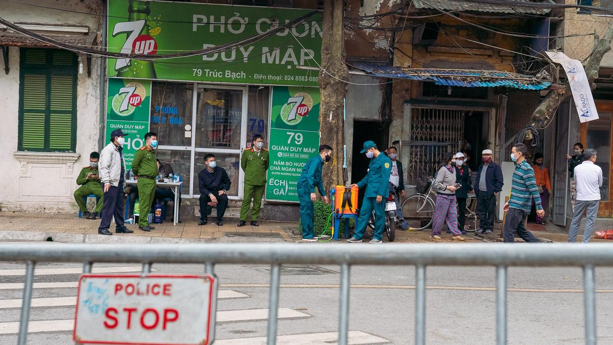 Corona Virus Hanoi Vietnam 08