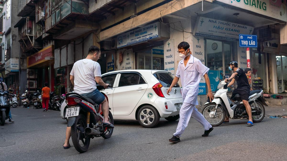 Corona Virus Hanoi Vietnam 04 2