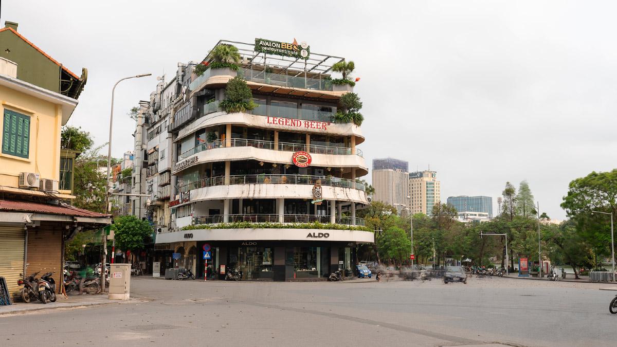 Hanoi Empty Street