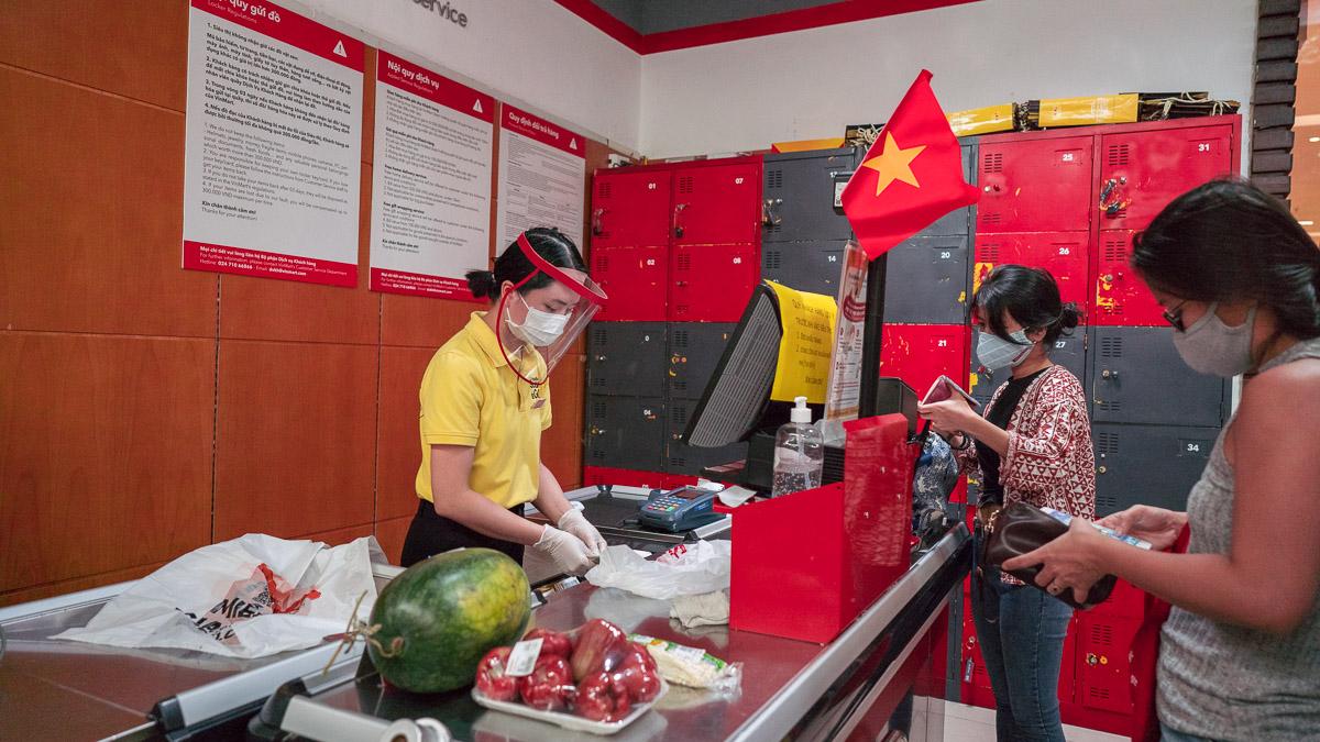Hanoi Corona Shopping 1