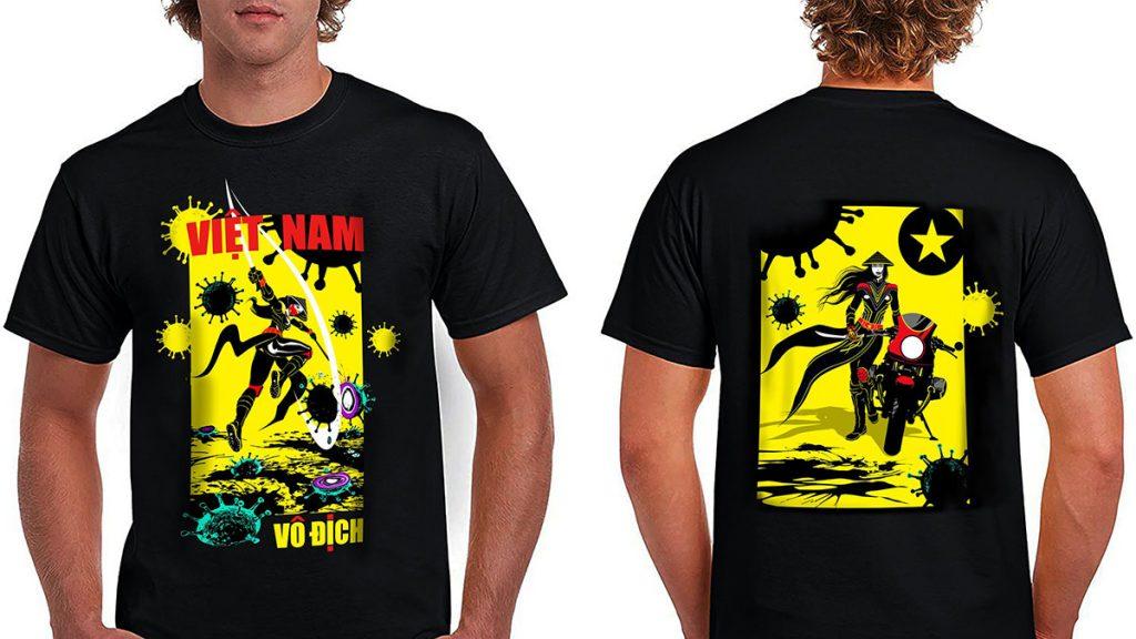 Nu Anh Hung Tshirts
