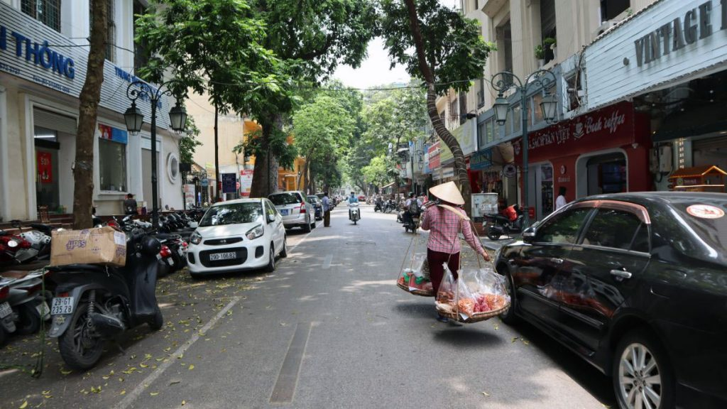 Book Street In Hanoi