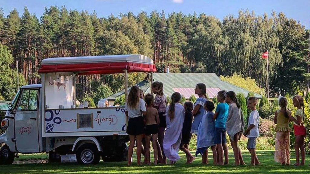 Ice Cream Truck Latvia