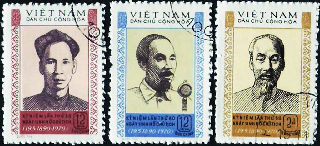 Ho Chi Minh Stamps
