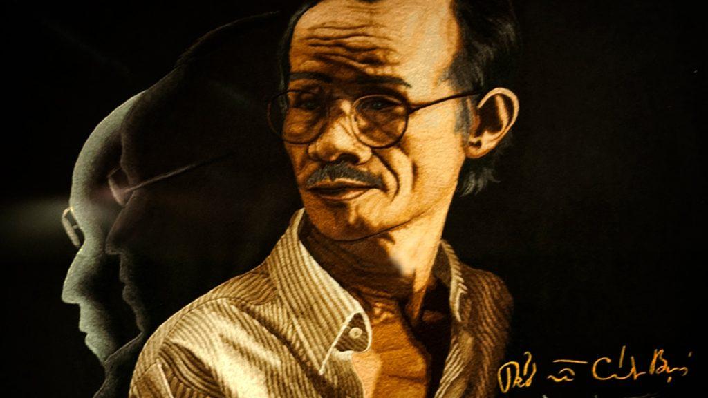 Trinh Cong Son Drawing