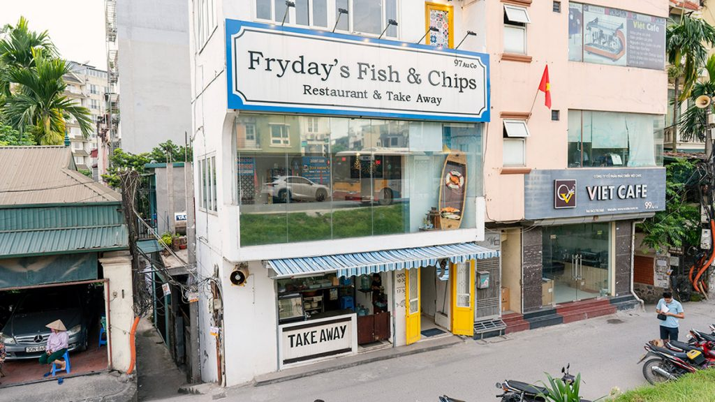 Frydays Fish Chips
