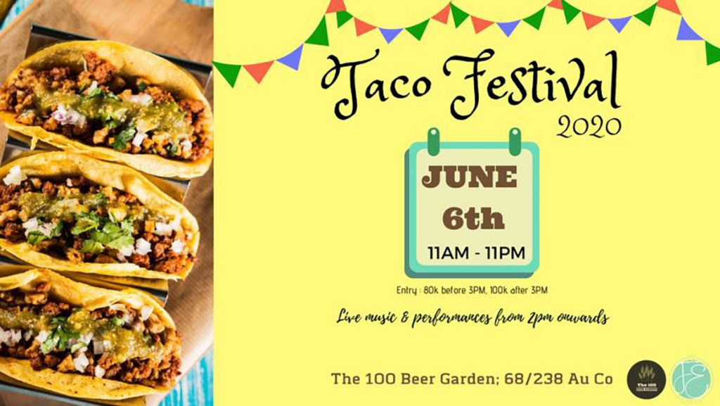 Taco Festival Poster