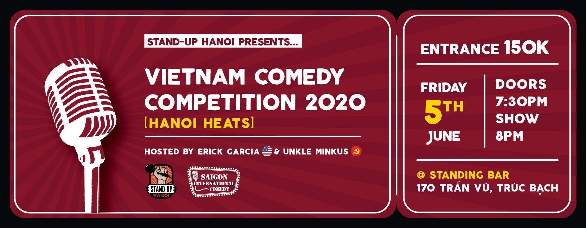 0506 Hanoi Event Comedy Festival