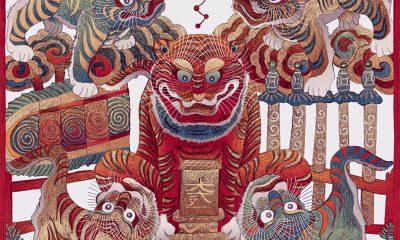 Dong Ho Tet Paintings Vietnam