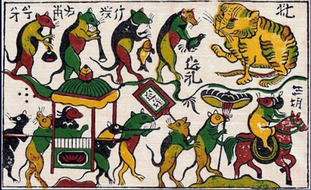 Rats Dong Ho Painting