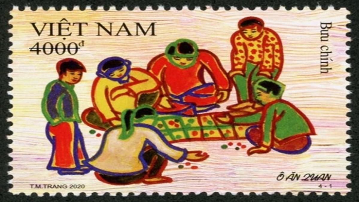 Stamps Childrens Day Vietnam