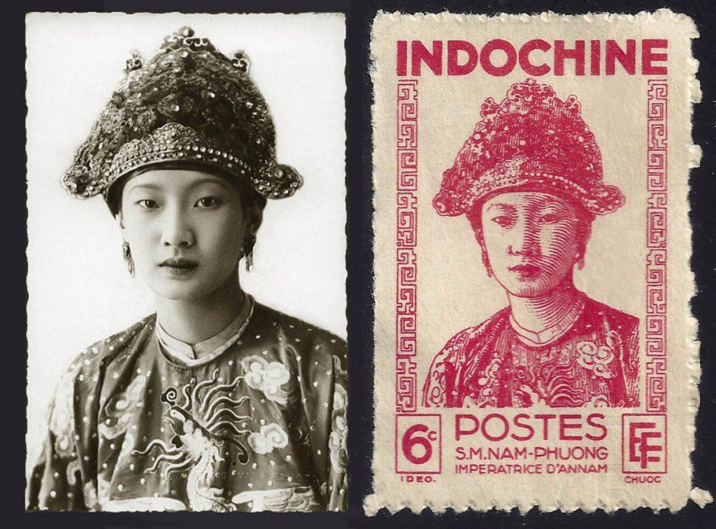 Nam Phuong Empress Stamps