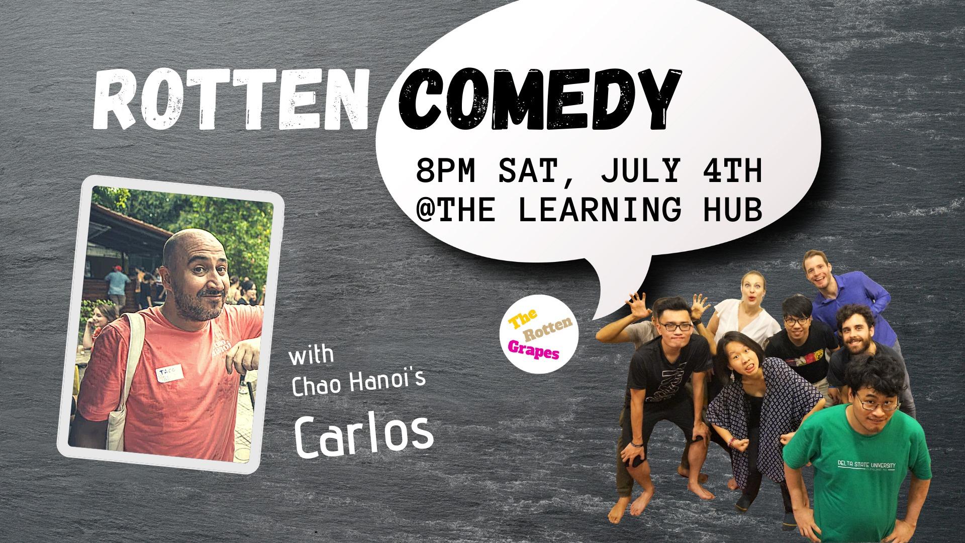 0407 Hanoi Event Comedy Night