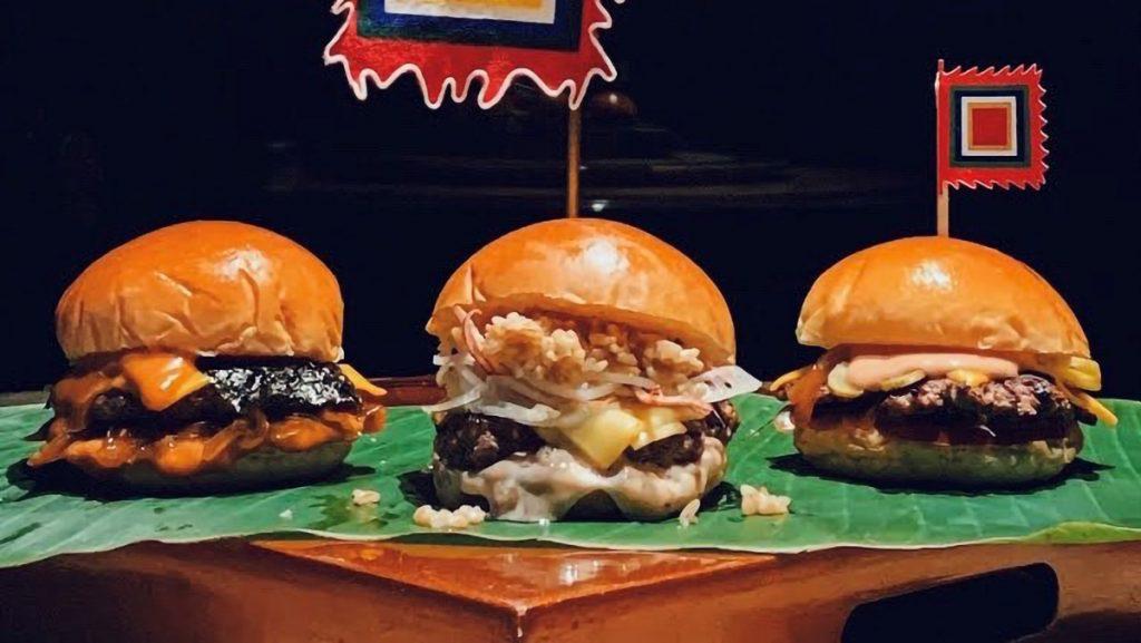 Slider Festival Burgers