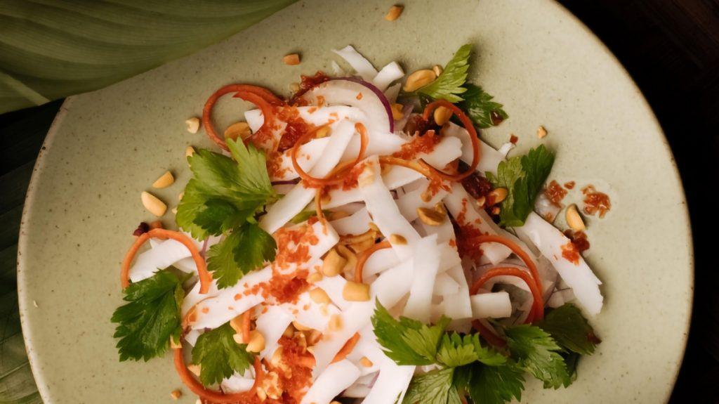 Vegetarian Salad Hanoi