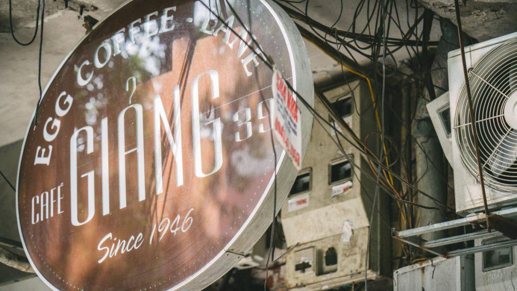 Egg Coffee Hanoi Cafe Giang 8
