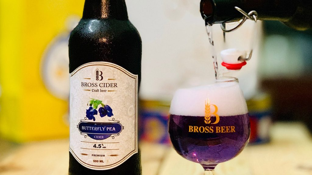 Butterfly Pea Ciders Hanoi