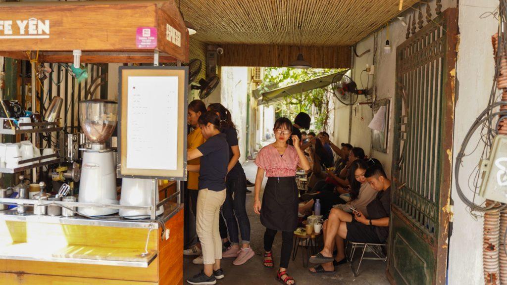 Café Yen 184 Quan Thanh Ba Dinh Hanoi 2