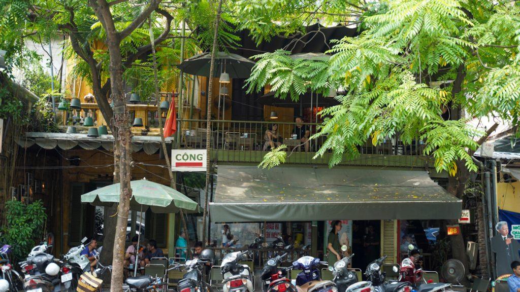 Café Cong Ca Phe Hanoi 1