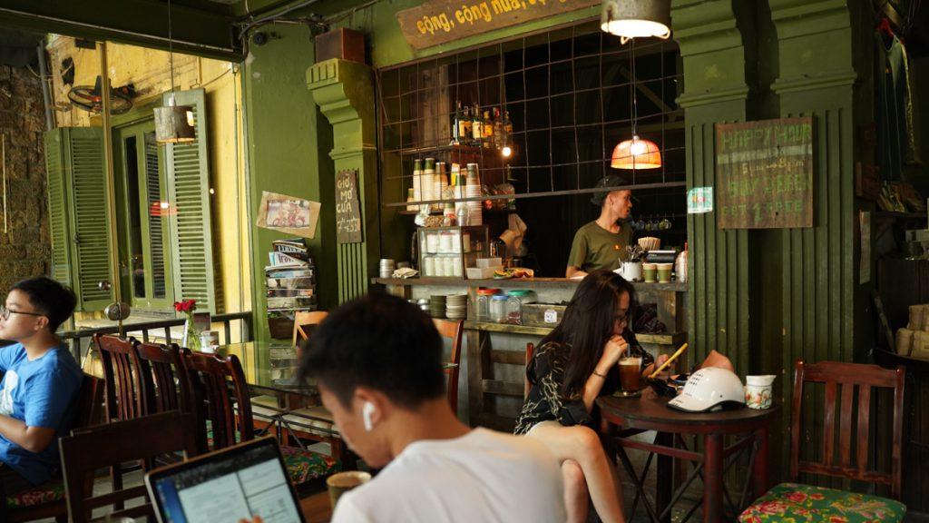 Café Cong Ca Phe Hanoi 2