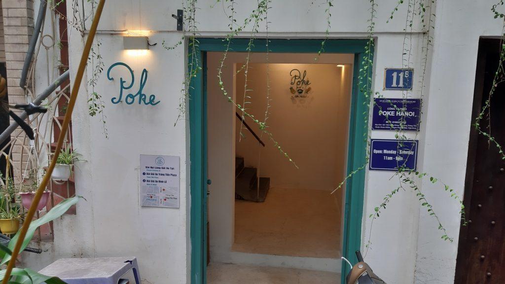Poke Entrance